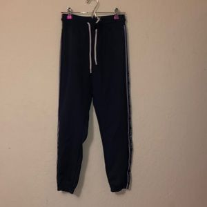 Forever 21 Navy Track Pants